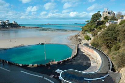 piscine à ciel ouvert de Dinard
